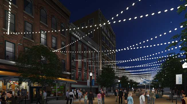 The Landing: Dynamic Changes To Historic Street
