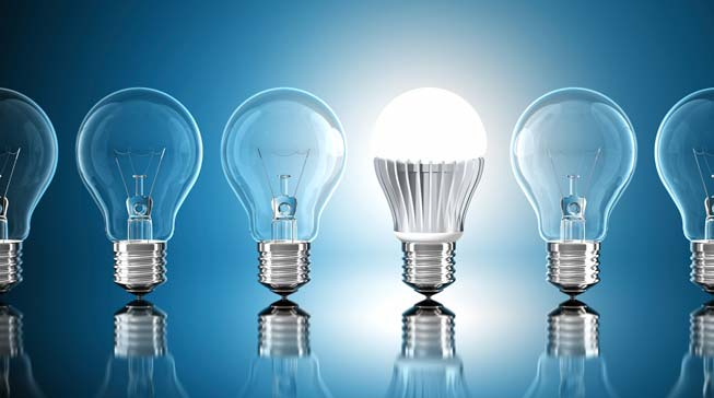 converting fluorescent light bulbs to led business people. Black Bedroom Furniture Sets. Home Design Ideas