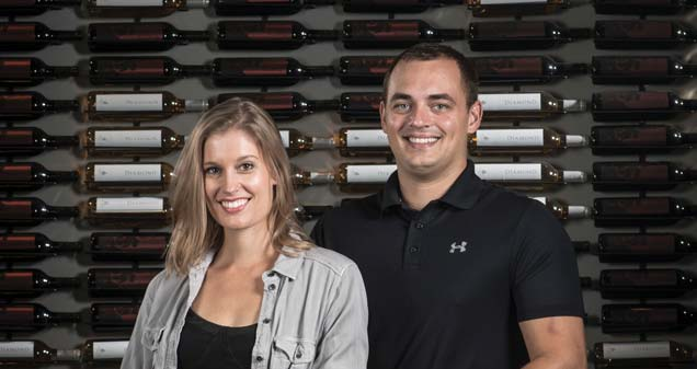 Emily and Eric Harris, owners of TWO-EE's