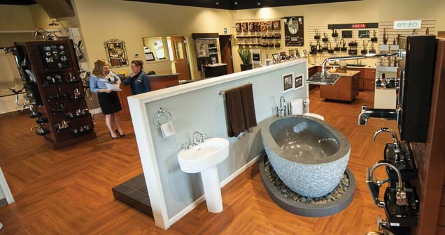 The Wayne Kitchen & Bath Works showroom is open to the public.