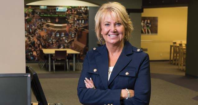 Lena Yarian, president of Junior Achievement of Northern Indiana