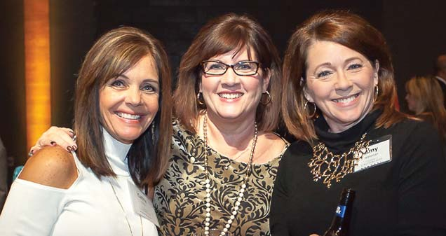 Cathy Gillig, Arlene Wunderlin and Amy Weisman  (Vice President Lake City Bank)