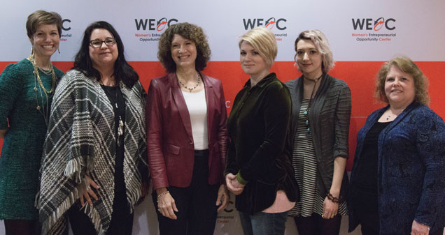 Leslee Hill, Melissa Hall, Laurie Burns McRobbie, Tricia Cavendar, Hali Ruisard and Ronda Crouch