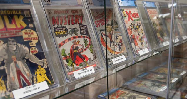 Scheerer McCulloch was recently selected to market and sell the Dr. Stallman collection of more than 500 vintage comic books at public auction.